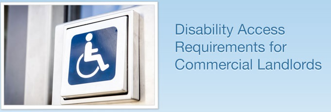 disability access requirements for commercial landlords